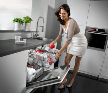 Hướng dẫn vệ sinh máy rửa chén